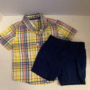 Carter's Toddler Boy's 2-Piece Outfit